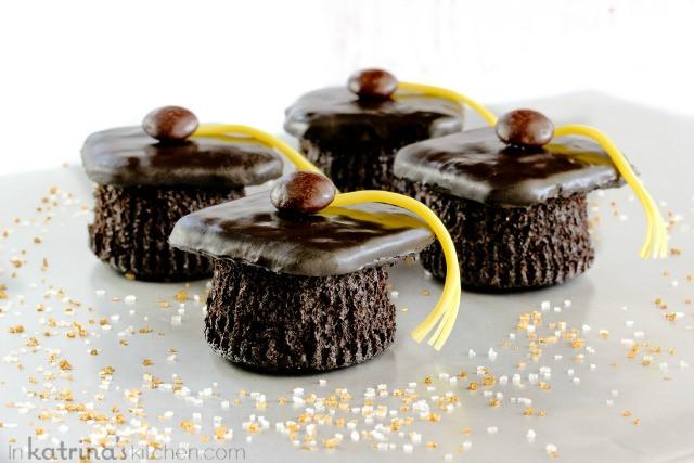 Graduation Cap Cupcakes  Graduation Cap Cupcakes Recipe
