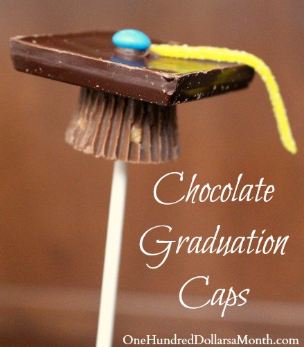 Graduation Cap Desserts  Graduation Dessert Ideas Graduation Caps e Hundred