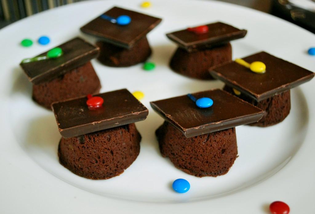 Graduation Cap Desserts  Graduation Cap Brownies