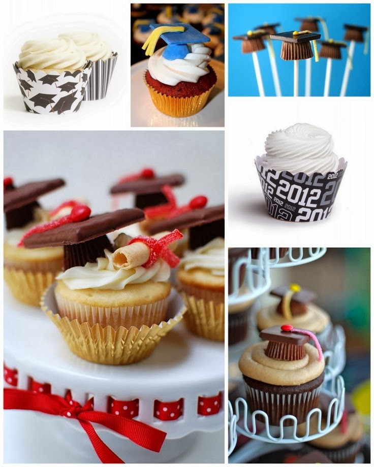 Graduation Cupcakes Decorating Ideas  Raising Fishermen GRADUATION FINGER FOOD IDEAS