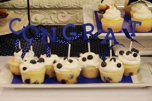 Graduation Cupcakes Decorating Ideas  cupcake decorations graduation ideas food