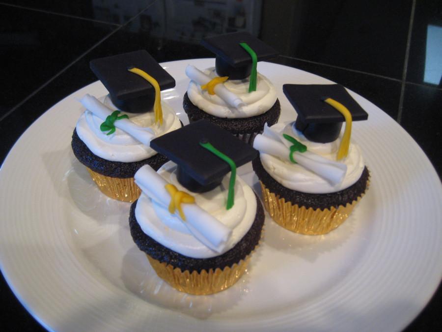 Graduation Cupcakes Ideas  CSU Graduation Cupcakes