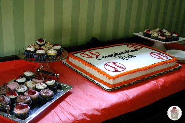 Graduation Cupcakes Walmart  Graduation Cake Hoosier Homemade