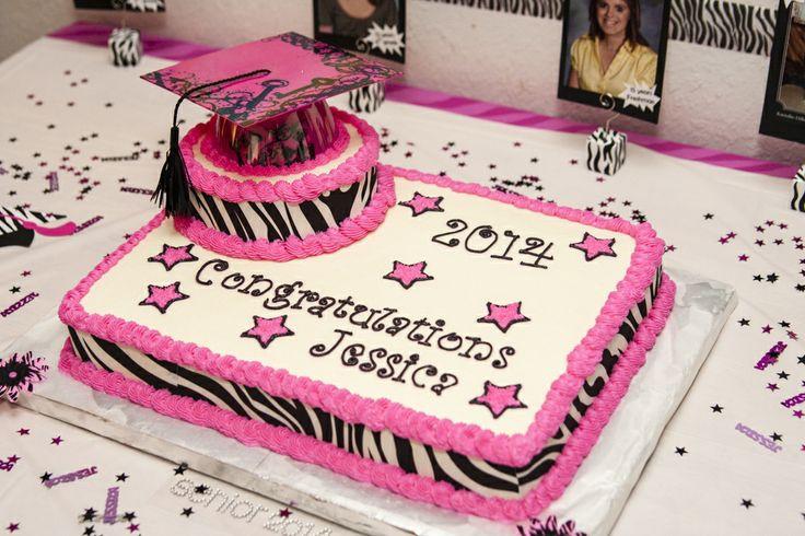 Graduation Cupcakes Walmart  My daughter s graduation Cake I made Butter cream