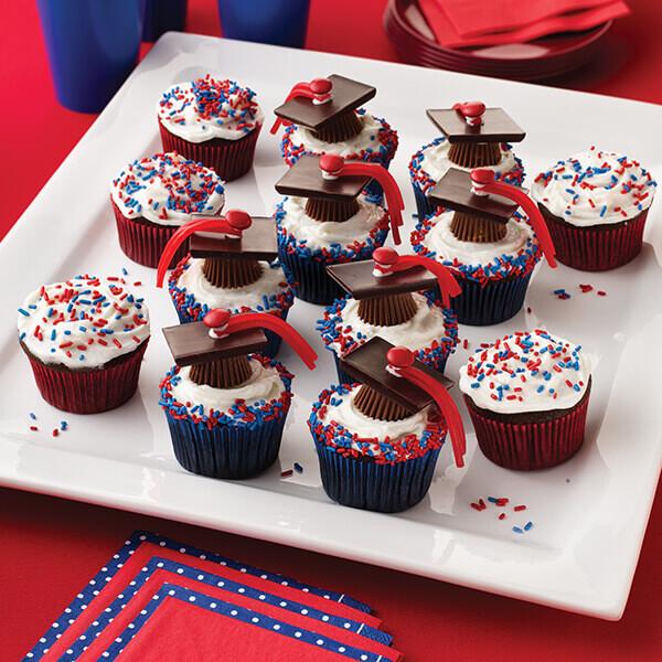 Graduation Dessert Ideas  Graduation Cupcakes Recipe