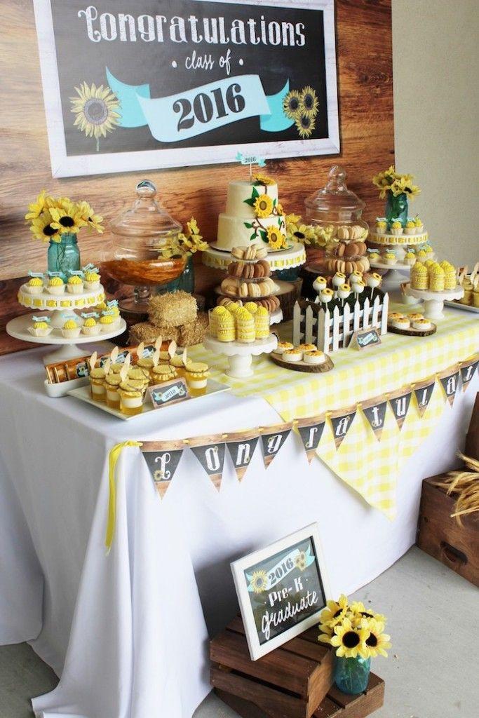 Graduation Dessert Ideas  Best 25 Graduation party desserts ideas on Pinterest