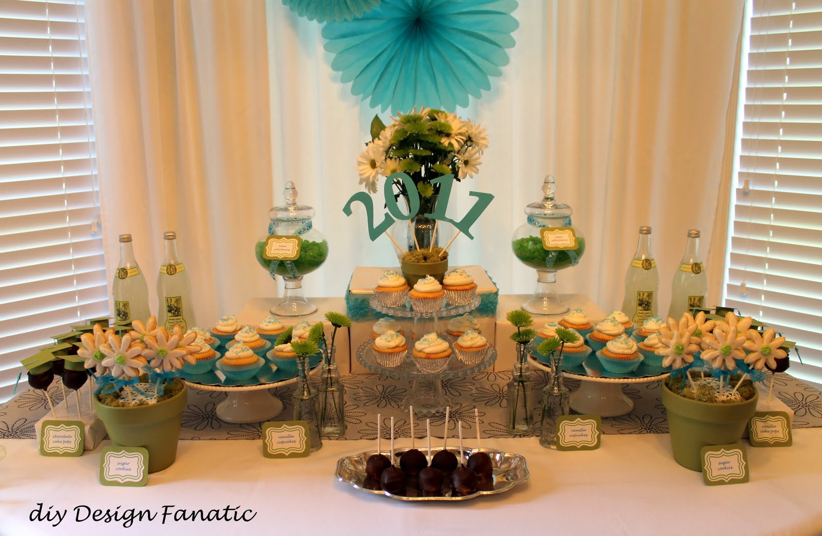 Graduation Dessert Table  We finished up taking photos as the first guests were