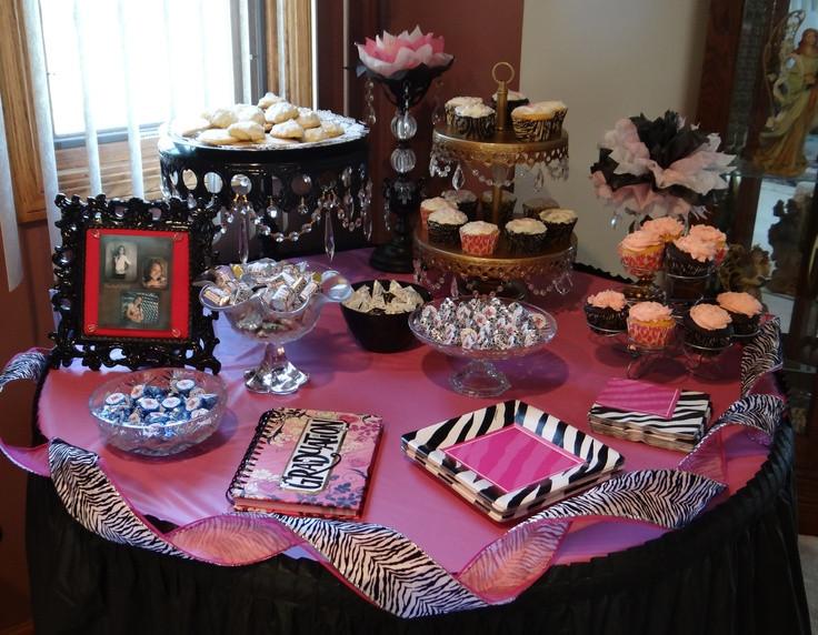 Graduation Dessert Table Ideas  17 Best images about tiff gradution party on Pinterest