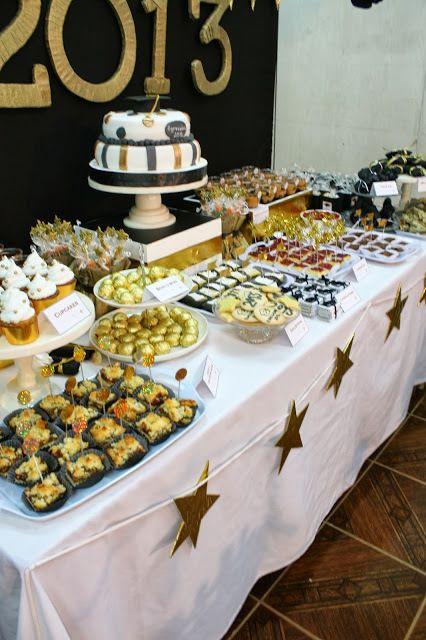 Graduation Dessert Table Ideas  Graduation End of School Party Ideas