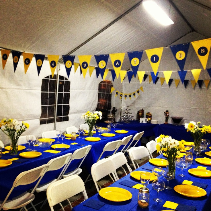 Graduation Dinner Ideas  Pinterest High School Graduation Party