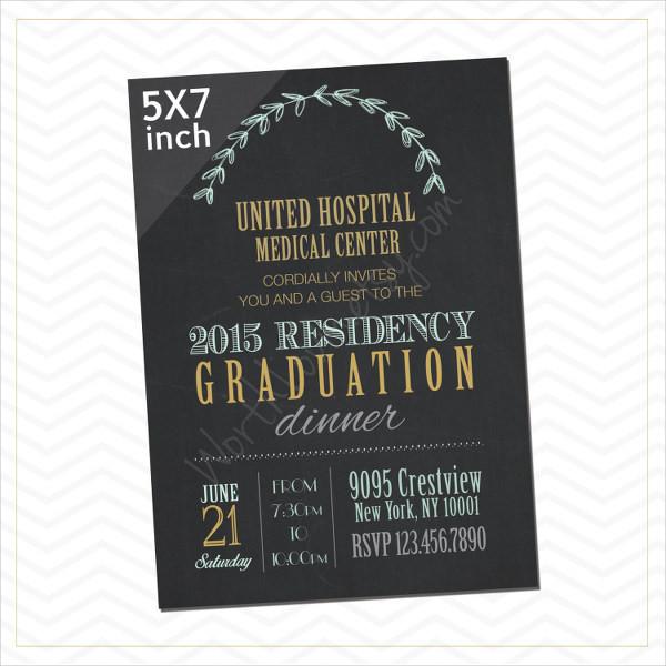 Graduation Dinner Invitation  45 Graduation Invitation Designs & Templates PSD AI