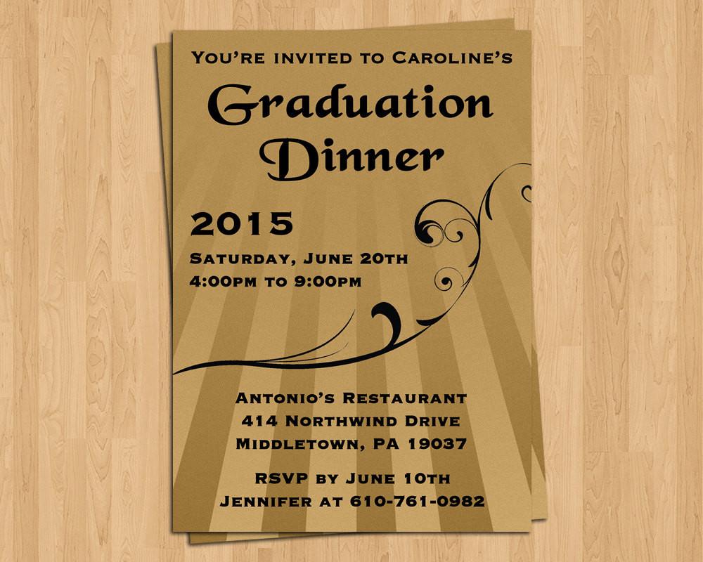 Graduation Dinner Invitation the Best Ideas for Graduation Invitation Dinner Invite Special by Lifeplustwo