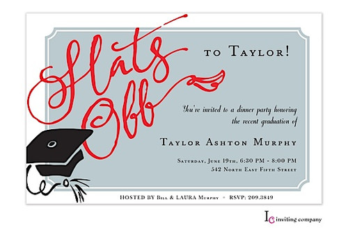 Graduation Dinner Invitation  graduation dinner invitations Graduation Dinner