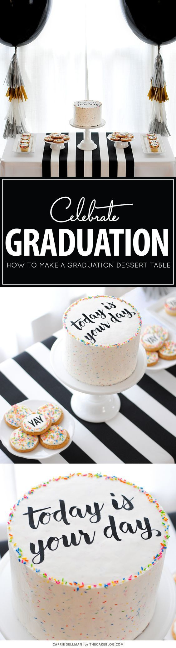 Graduation Party Desserts  Best 25 College graduation cakes ideas on Pinterest
