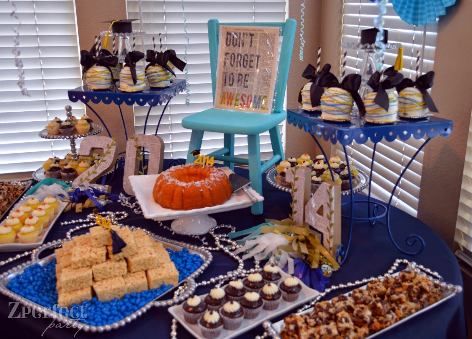 Graduation Party Desserts  Zperfect Party Have Your Cake and Eat it too
