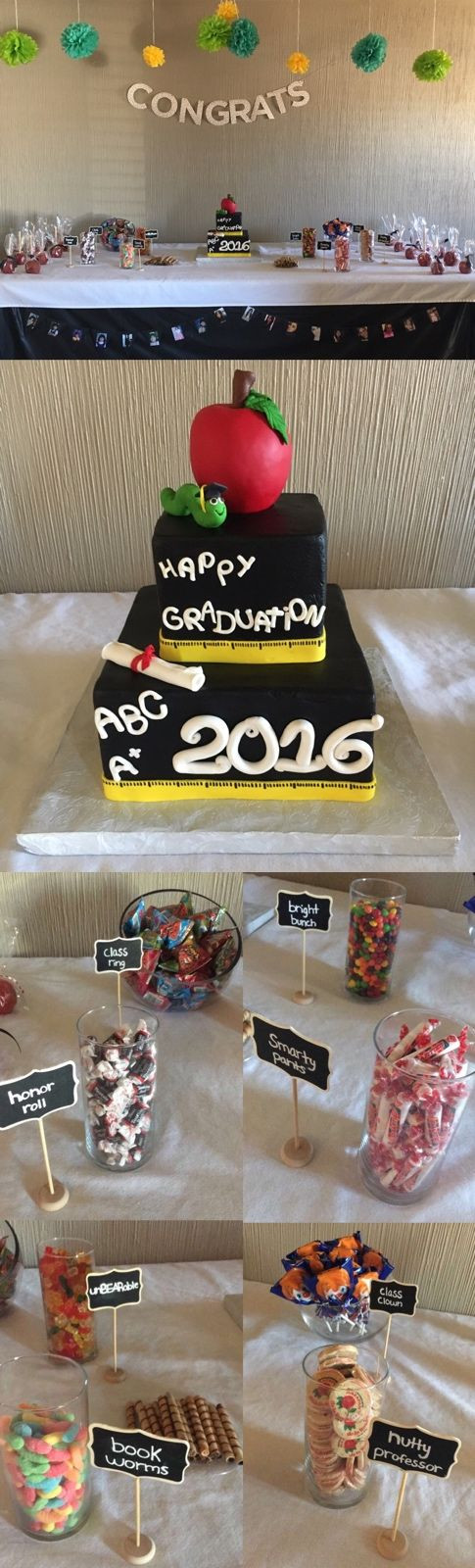 Graduation Party Desserts  Best 25 Dessert puns ideas on Pinterest