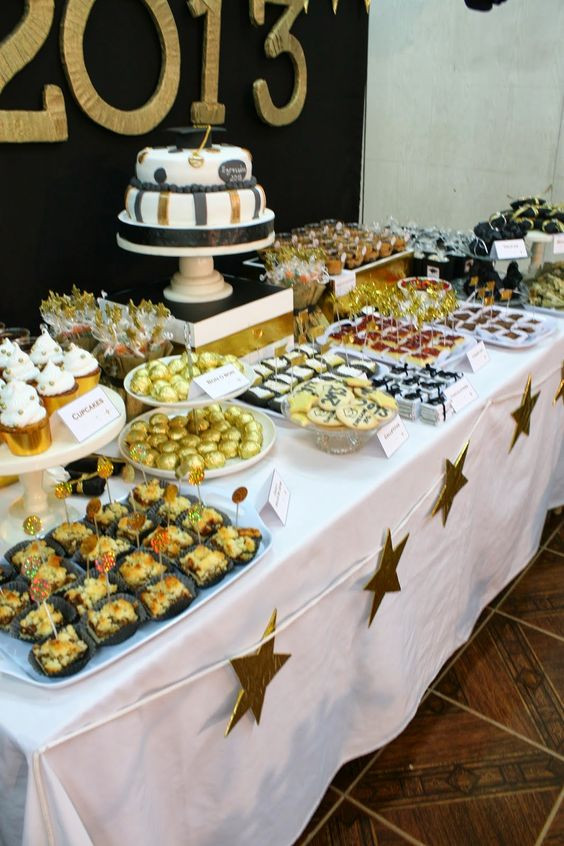 Graduation Party Desserts  Graduation Open House Food Bing