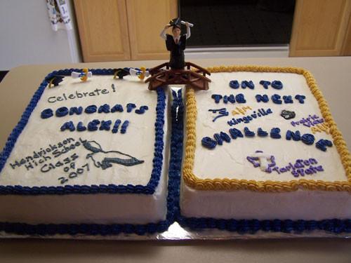 Graduation Sheet Cake Ideas  Graduation Cake ThePartyWorks
