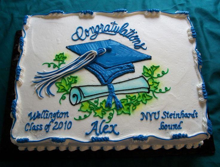 Graduation Sheet Cake Ideas  37 best images about Graduation on Pinterest