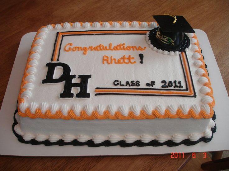 Graduation Sheet Cake Ideas  24 best Graduation sheet cakes images on Pinterest