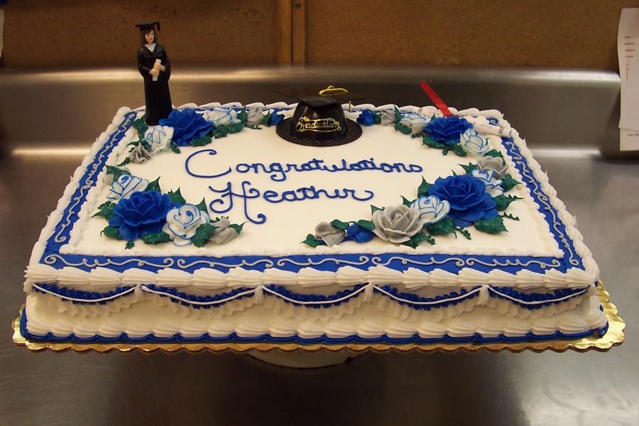 Graduation Sheet Cake  College Grad Sheet Cake CakeCentral