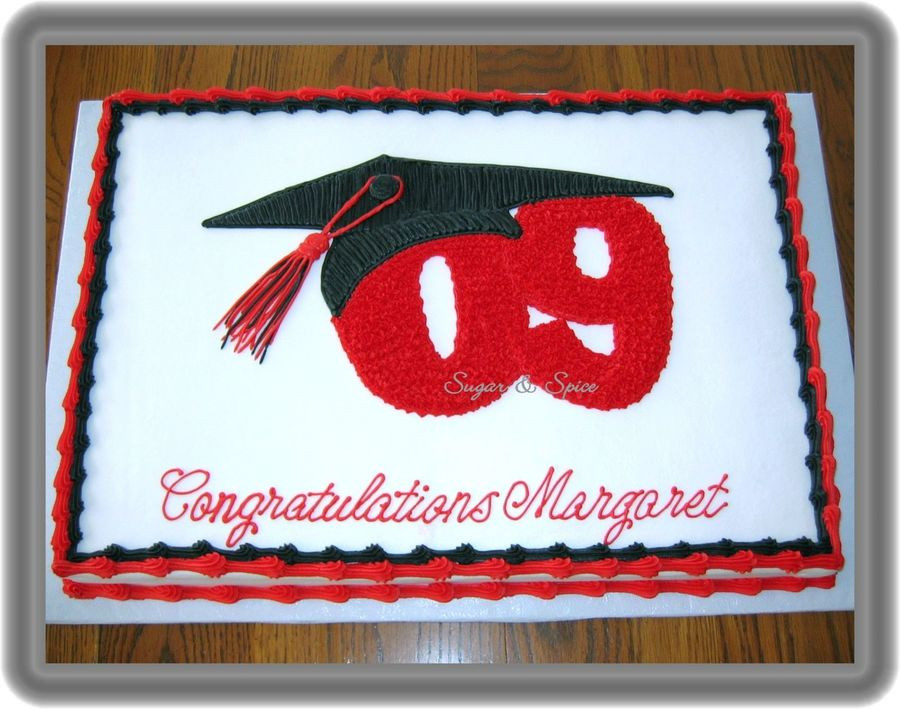 Graduation Sheet Cake  Margaret s Graduation CakeCentral