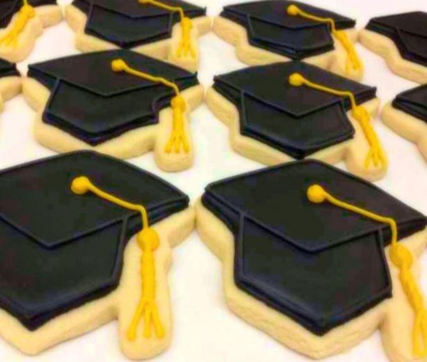 Graduation Sugar Cookies  Graduation Cap Decorated Sugar Cookies by Sugar Love