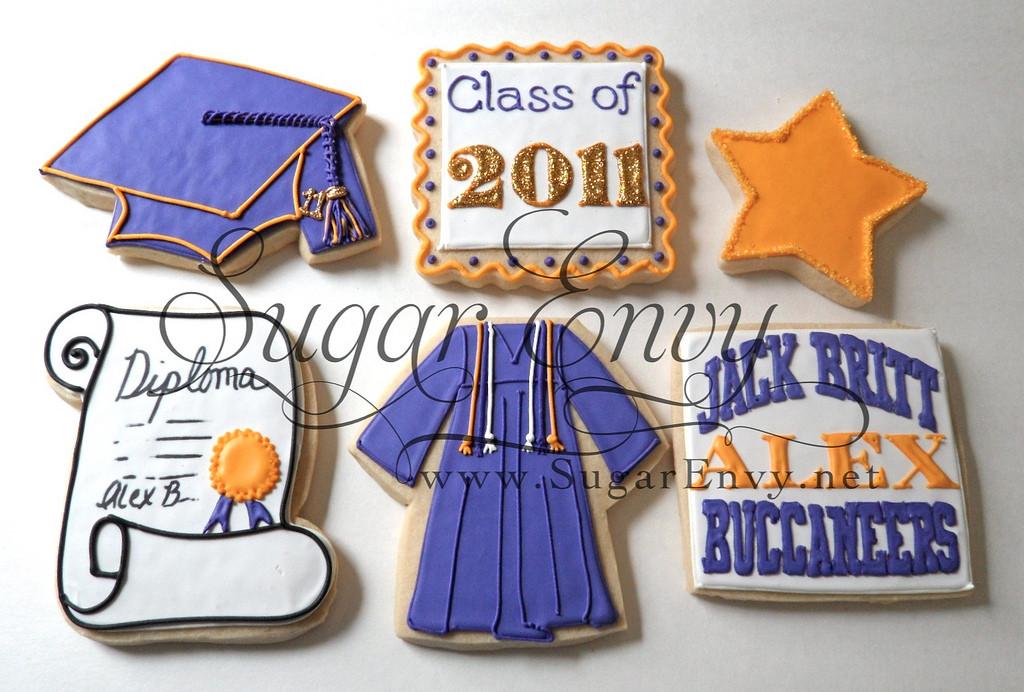 Graduation Sugar Cookies  2011 Graduation Cookies Sugar Envy