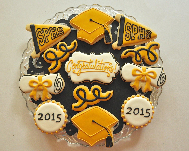 Graduation Sugar Cookies  Custom Graduation Cookies