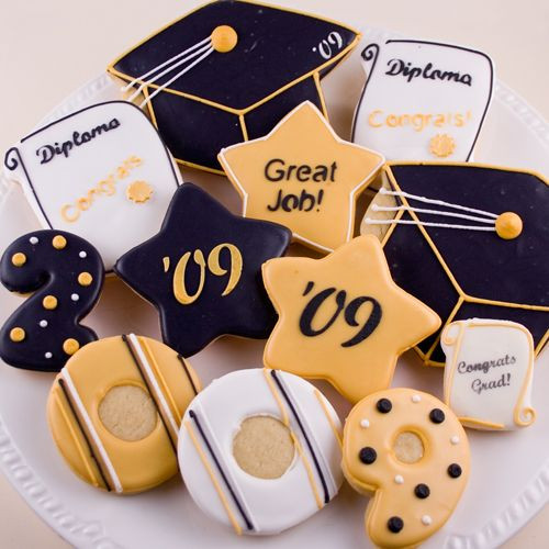 Graduation Sugar Cookies  GRADUATION COOKIES Torte Pinterest