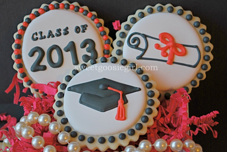 Graduation Sugar Cookies  Graduation Decorated Sugar Cookies