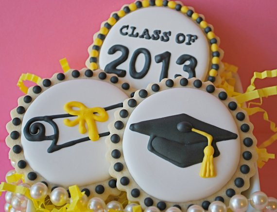 Graduation Sugar Cookies  Graduation Decorated Sugar Cookies by sweetgoosiegirl on Etsy