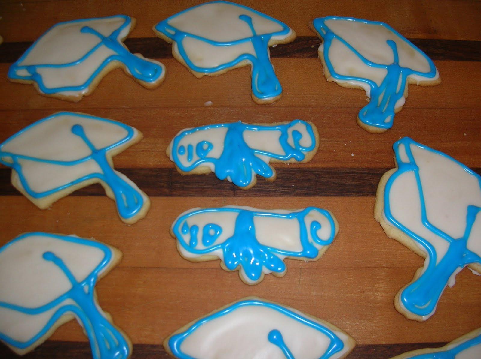 Graduation Sugar Cookies  A Year of Cookies Cookie Recipe 140 Sugar Cookies