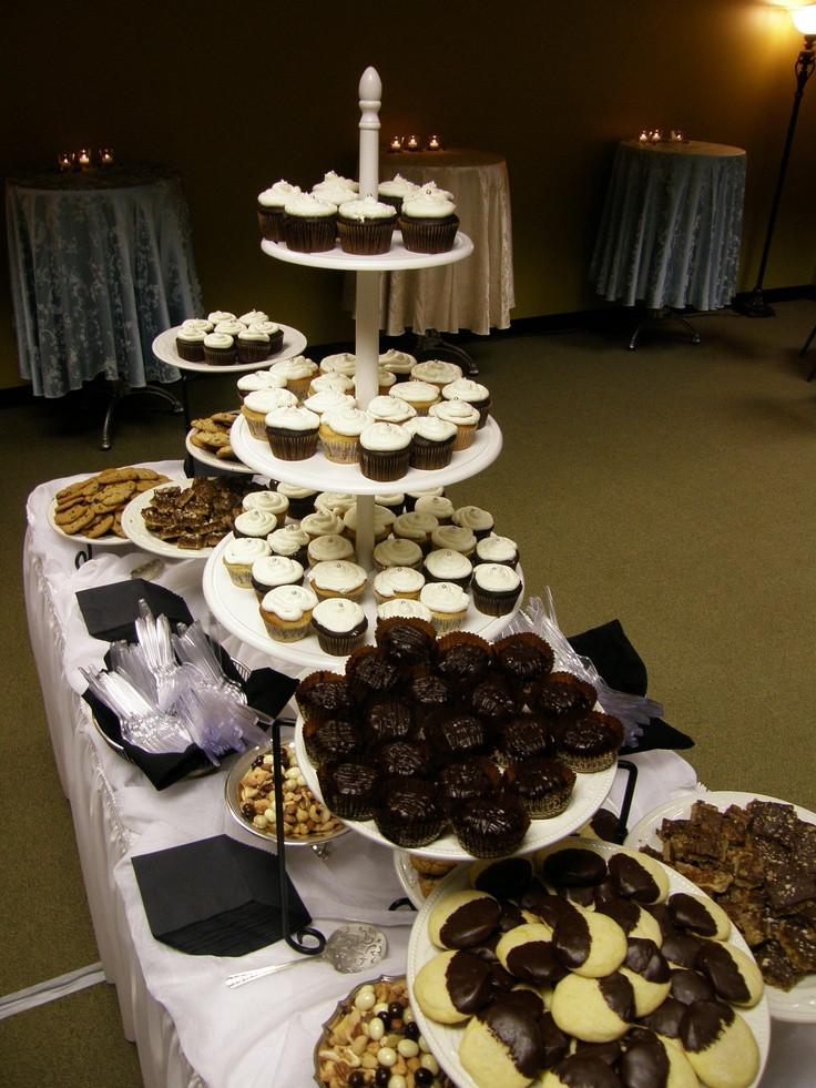 Graduation Themed Desserts  Dessert buffet graduation party