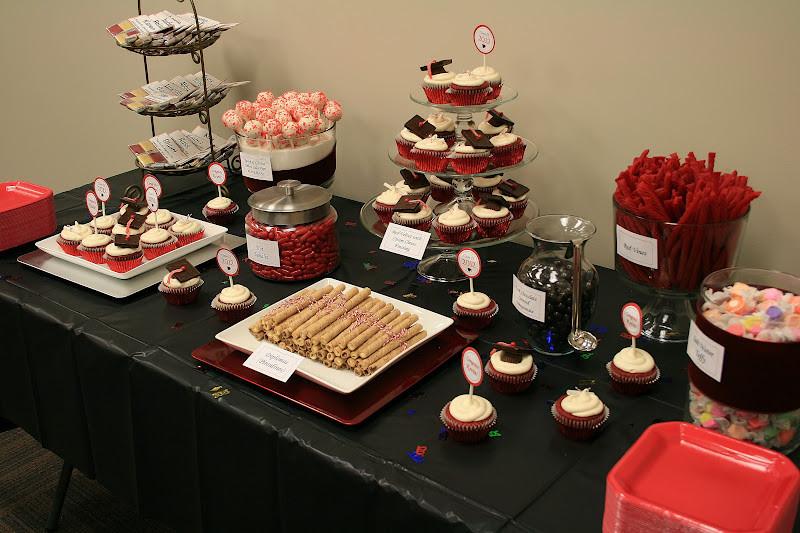 Graduation Themed Desserts  Dessert Graduation Desserts Cupcakes Cake Pops