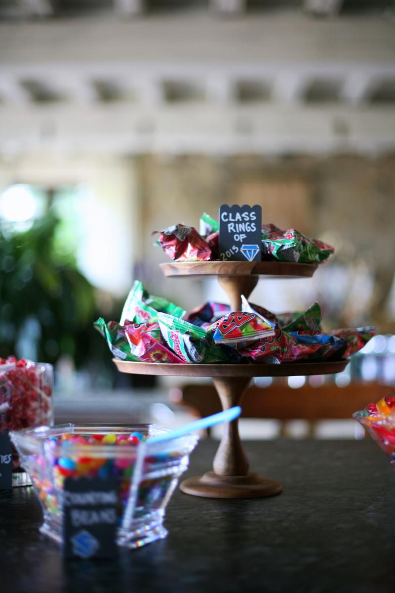 Graduation Themed Desserts  Graduation Themed Candy Dessert Bar — myfeaytime
