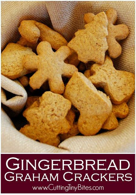 Graham Cracker Snacks Healthy  Gingerbread Graham Crackers