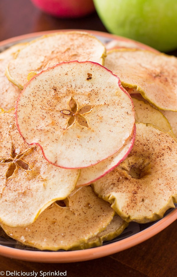 Granny Smith Apple Recipes Healthy  Baked Cinnamon Sugar Apple Chips