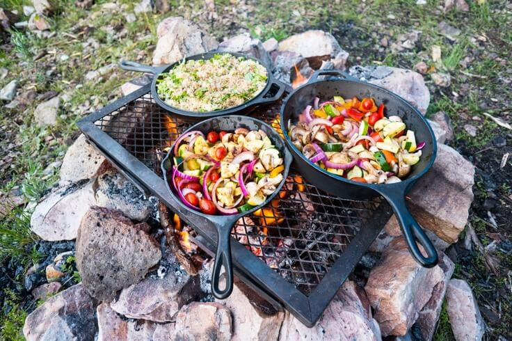Great Camping Dinners  The Best Camping Food