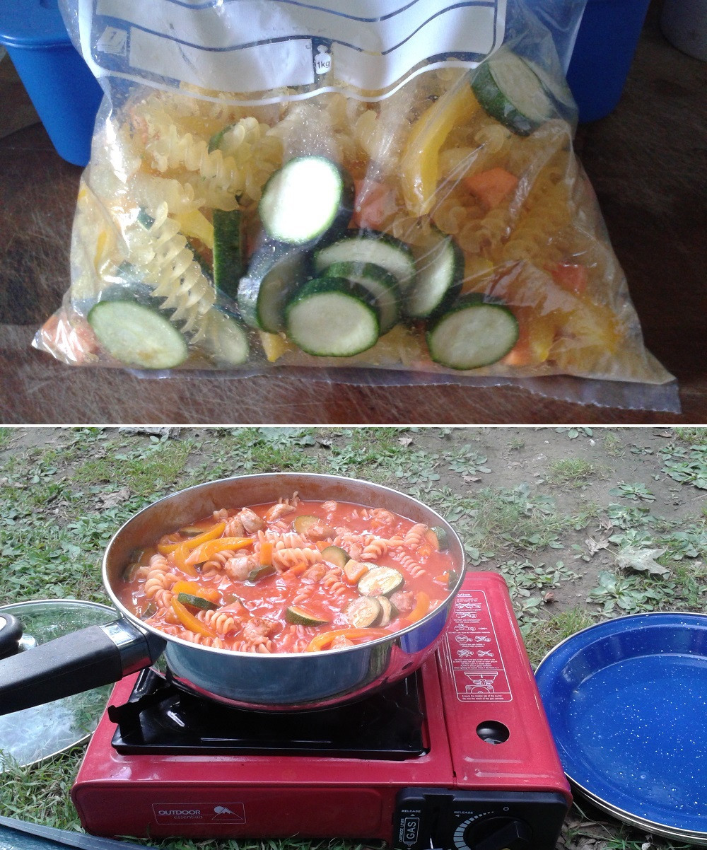 Great Camping Dinners  WatchFit Five great make ahead camping meals