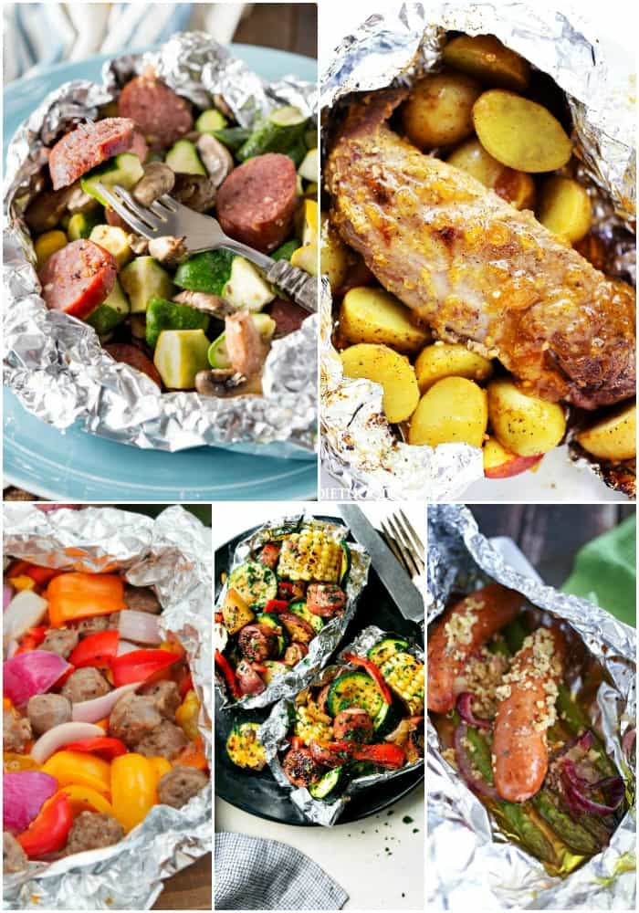 Great Camping Dinners  25 Foil Packet Dinners for Your Next Grill Out ⋆ Real