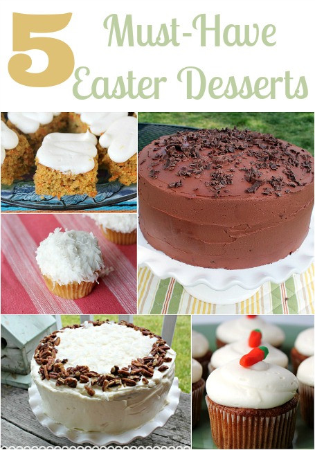 Great Easter Desserts  Top 5 Favorite Easter Desserts All Things Mamma