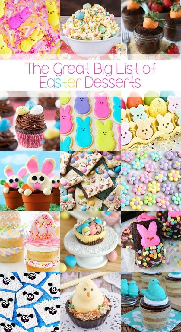 Great Easter Desserts  The Great Big List of Easter Desserts • Sarahs Bake Studio
