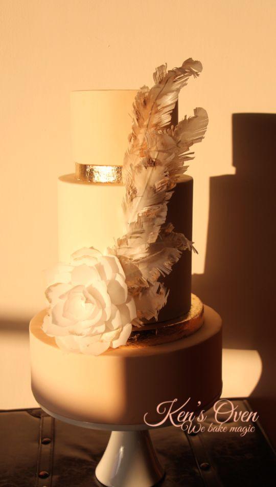 Great Gatsby Wedding Cakes  Great Gatsby Inspired Wedding Cake Cake by Kendari