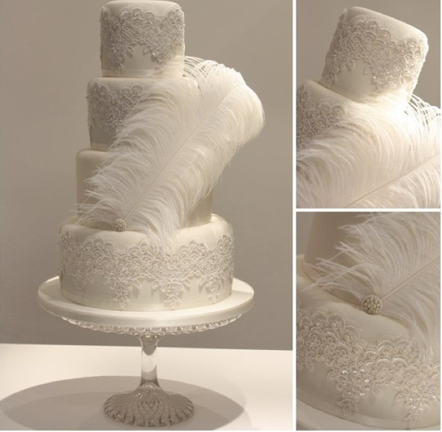 Great Gatsby Wedding Cakes  The Not So Great Gatsby Wedding Cake