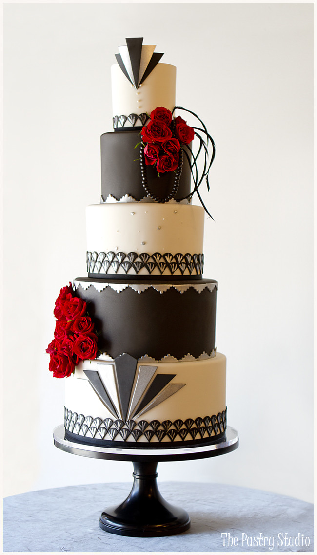 Great Gatsby Wedding Cakes  Wedding Cake Design Current Trends and Inspiration The