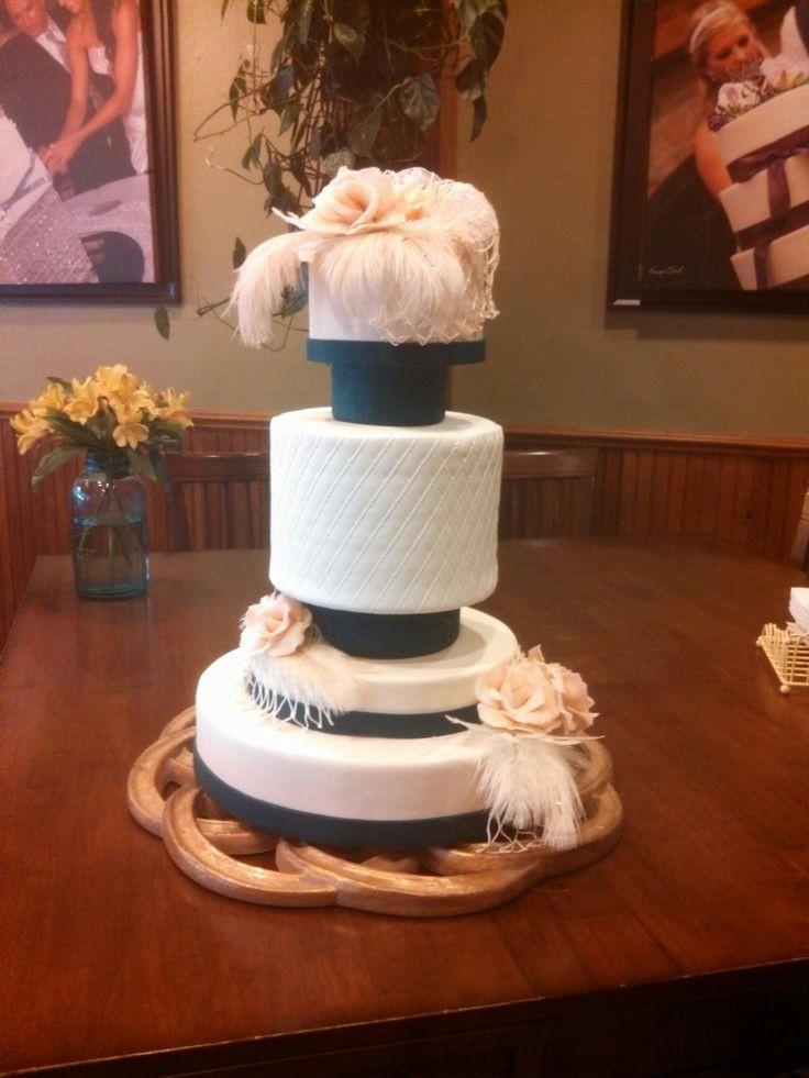 Great Gatsby Wedding Cakes  Great Gatsby wedding cake Ideas for I Do s