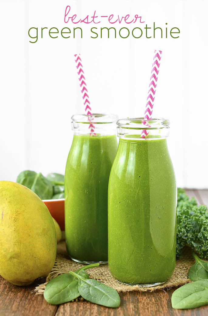 Great Tasting Healthy Smoothies  Best Ever Green Smoothie For the Green Smoothie Skeptics