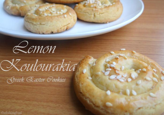 Greek Easter Desserts  Lemon Koulourakia Greek Easter Cookies