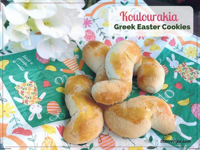 Greek Easter Desserts  Treat Your Family to Koulourakia this Easter